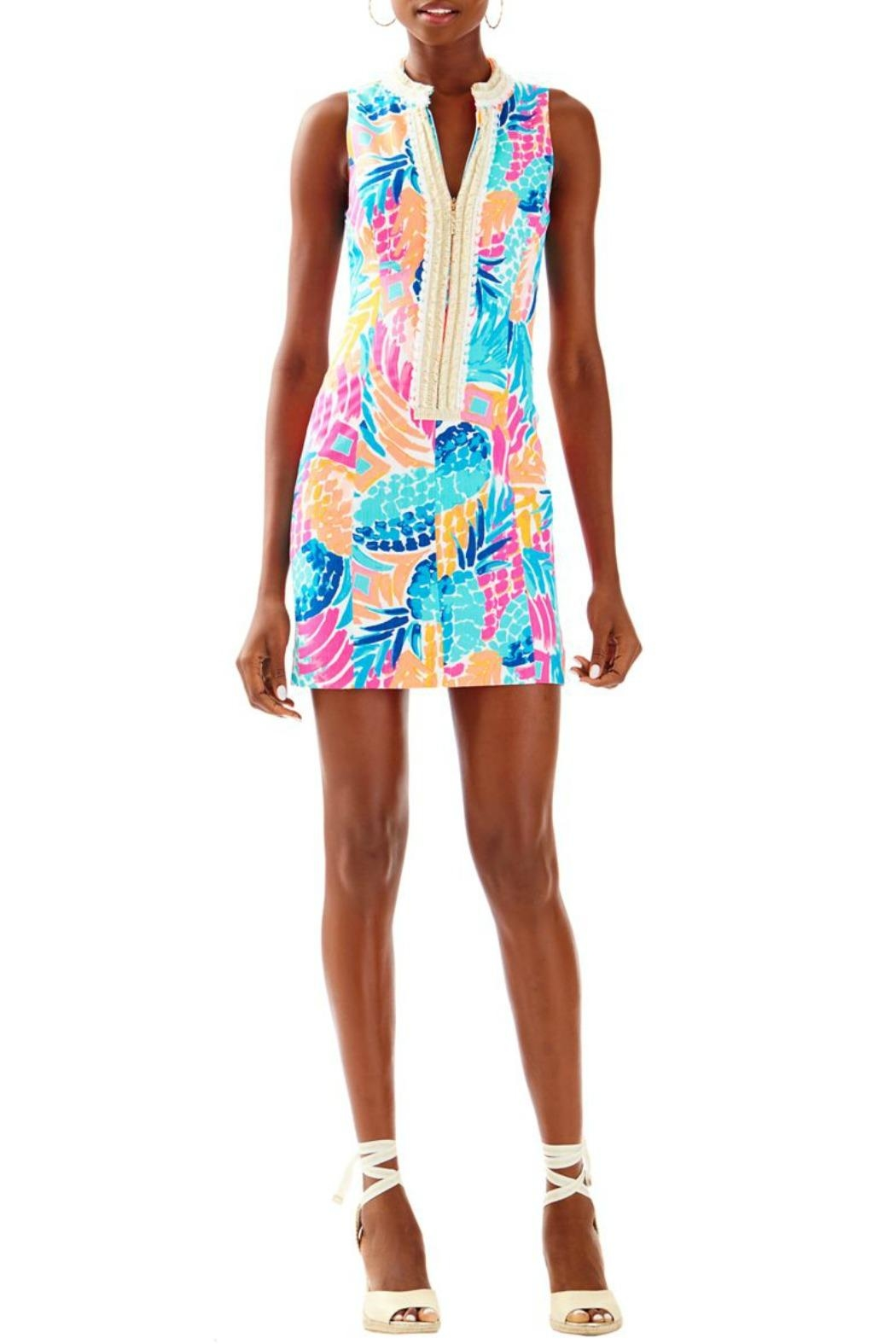 Lilly Pulitzer Alexa Shift Dress - Front Cropped Image