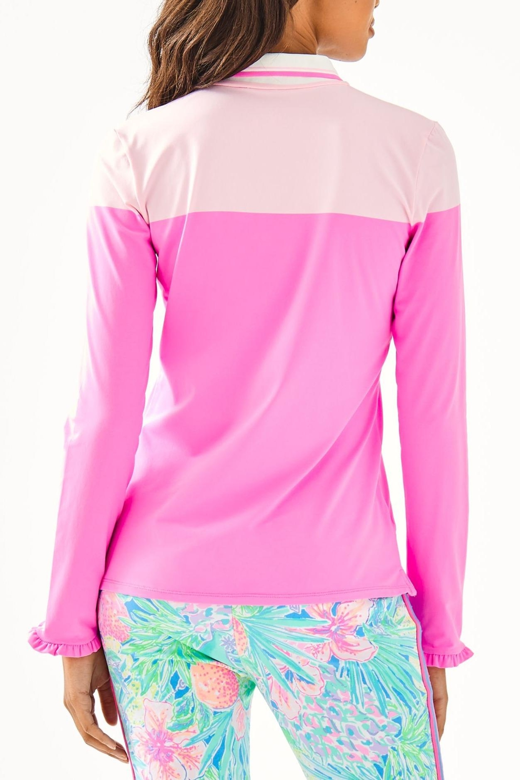 Lilly Pulitzer Alister Polo - Front Full Image