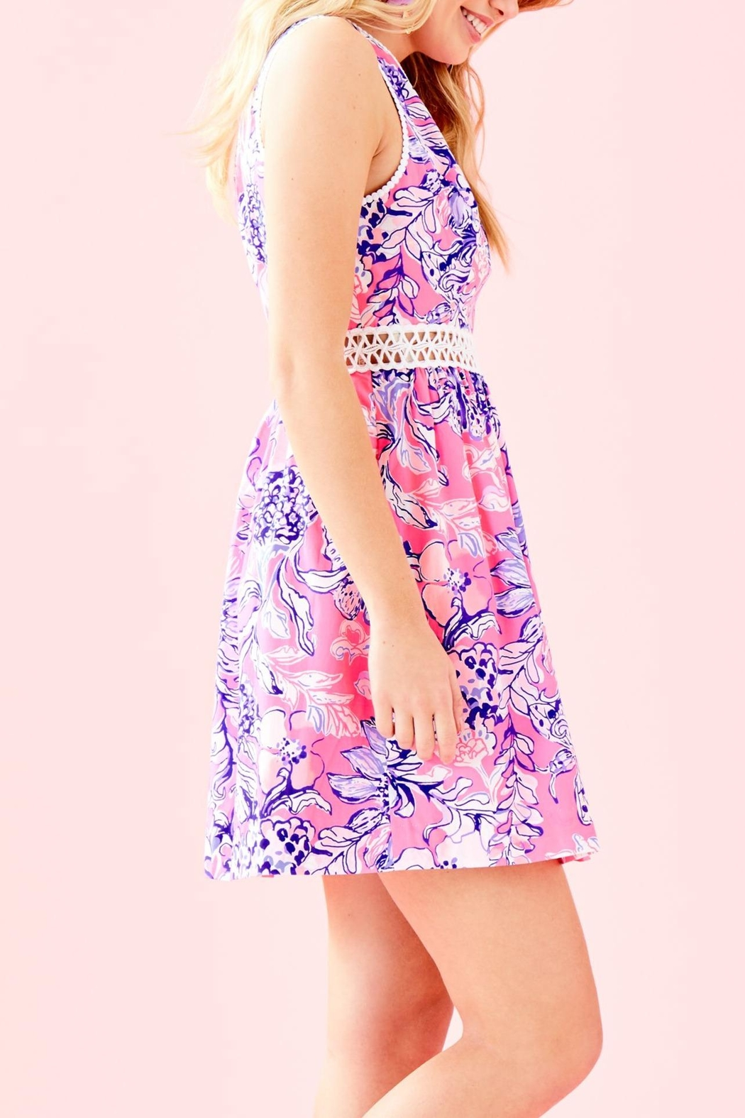 Lilly Pulitzer Alivia Dress - Side Cropped Image