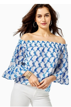 Lilly Pulitzer Alva Off-The-Shoulder Top - Product List Image
