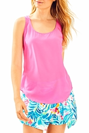 Lilly Pulitzer Alyssa Silk Top - Front cropped