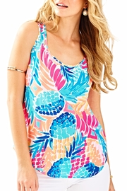 Lilly Pulitzer Alyssa Silk Top - Product Mini Image