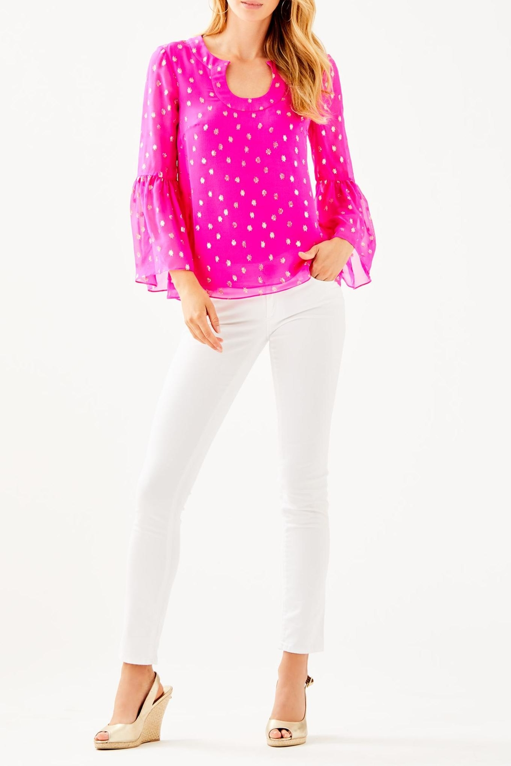 Lilly Pulitzer Amory Top - Side Cropped Image