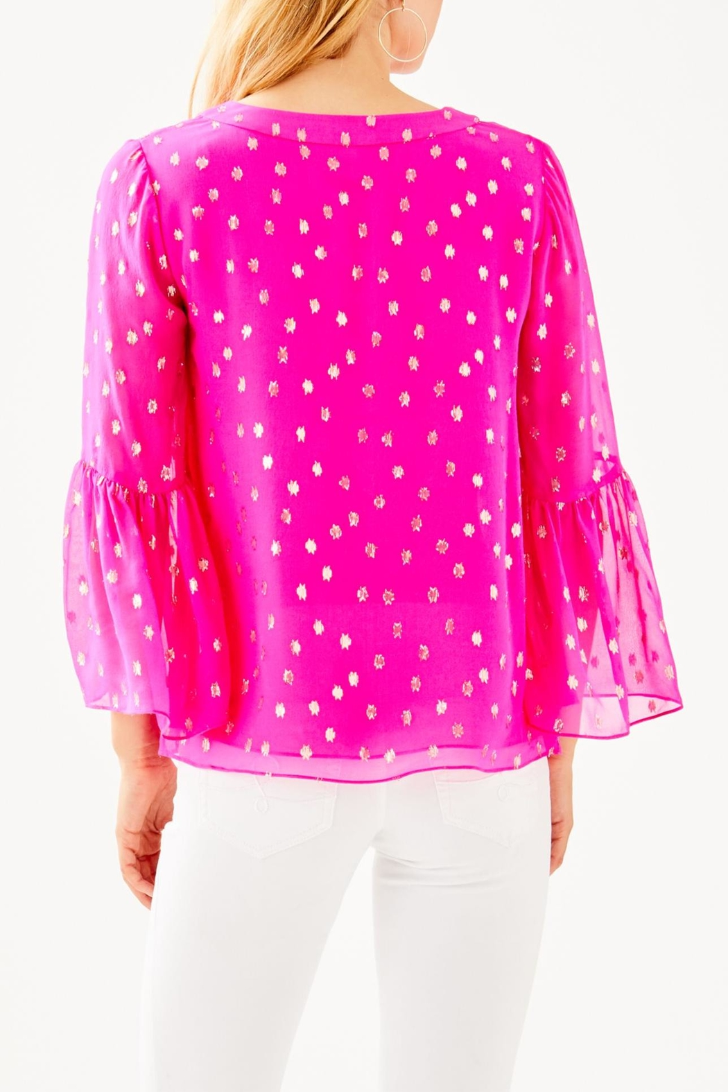 Lilly Pulitzer Amory Top - Front Full Image