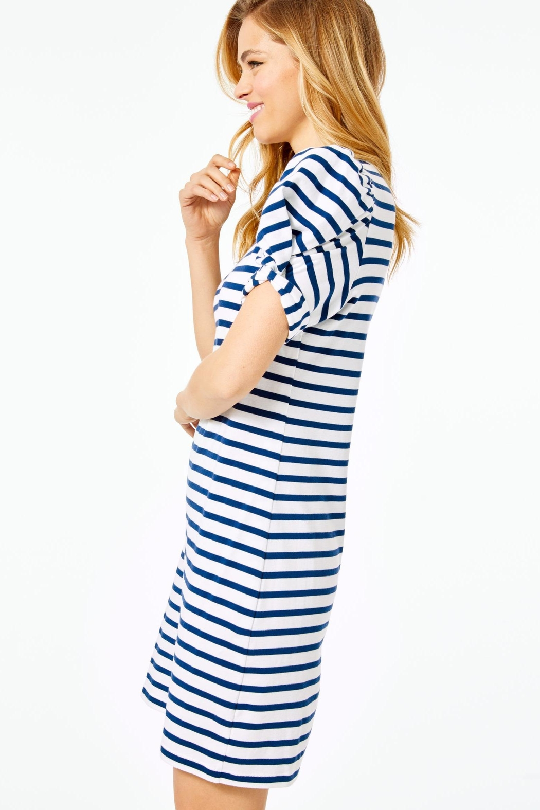Lilly Pulitzer Anabella T-Shirt Dress - Side Cropped Image