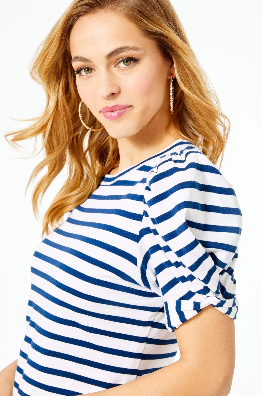 Lilly Pulitzer Anabella T-Shirt Dress - Back Cropped Image