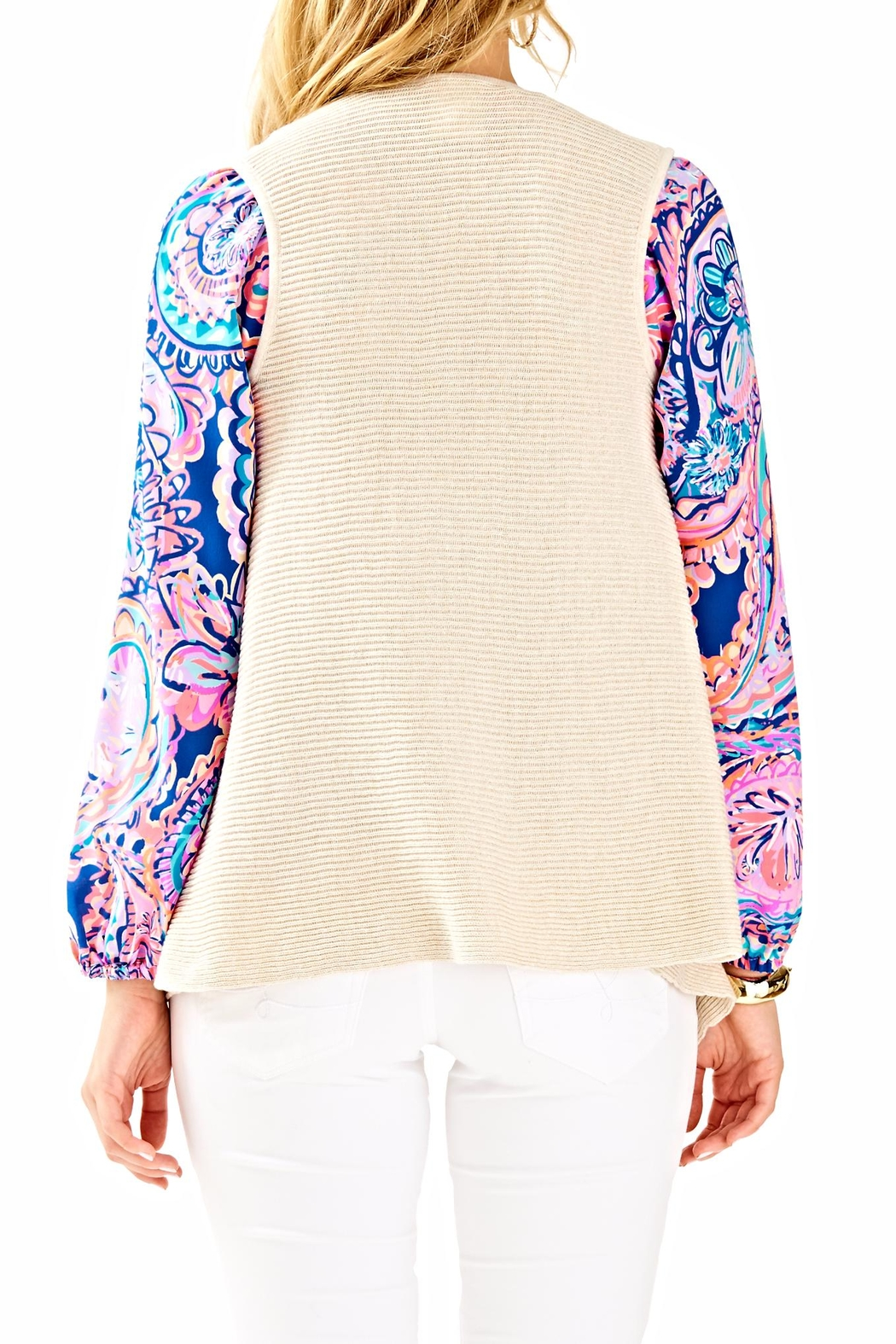 Lilly Pulitzer Andella Sweater Vest - Front Full Image