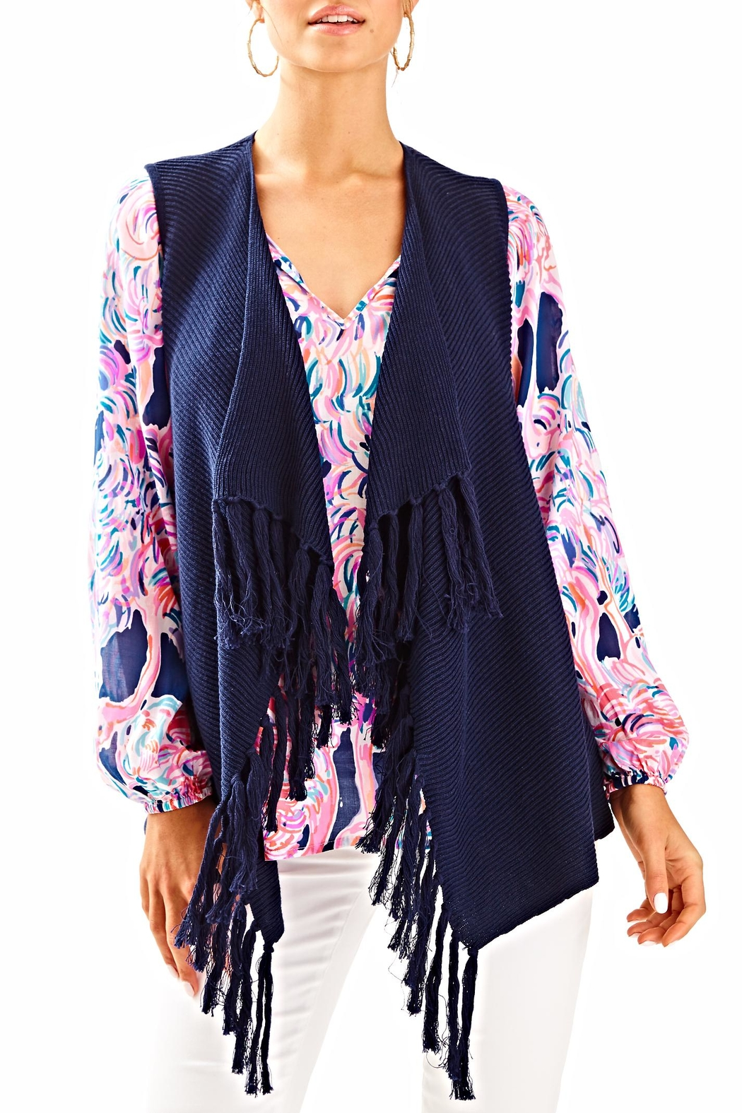 Lilly Pulitzer Andella Sweater Vest - Main Image