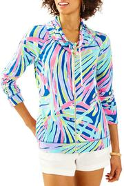 Lilly Pulitzer Angela Zip Up Top - Product Mini Image