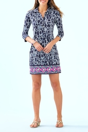 Lilly Pulitzer Ansley Polo Dress - Back cropped