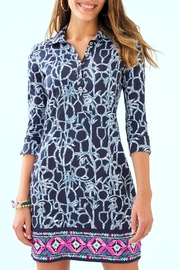 Lilly Pulitzer Ansley Polo Dress - Front cropped