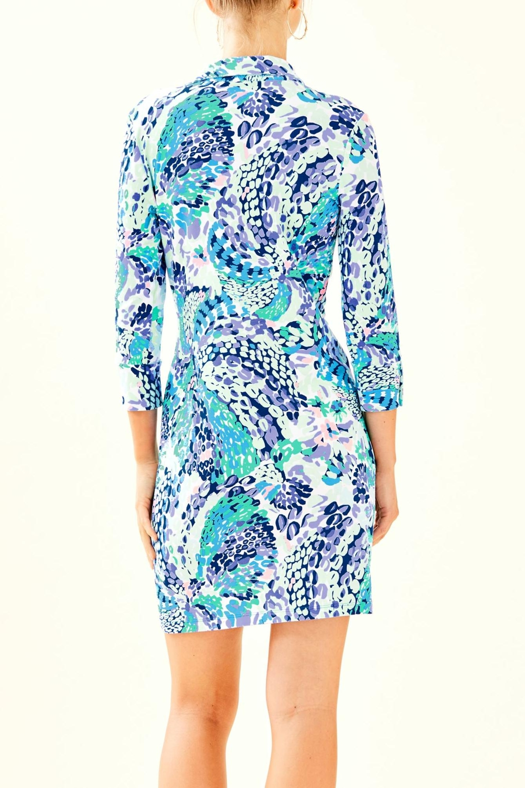 Lilly Pulitzer Ansley Polo Dress - Front Full Image