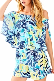 Lilly Pulitzer Arbelle Romper - Front cropped