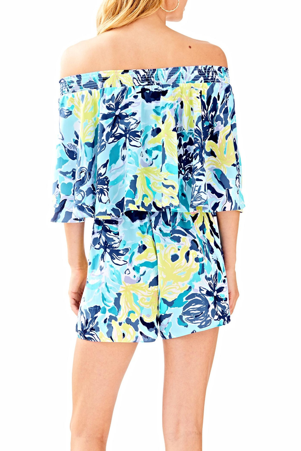 Lilly Pulitzer Arbelle Romper - Front Full Image
