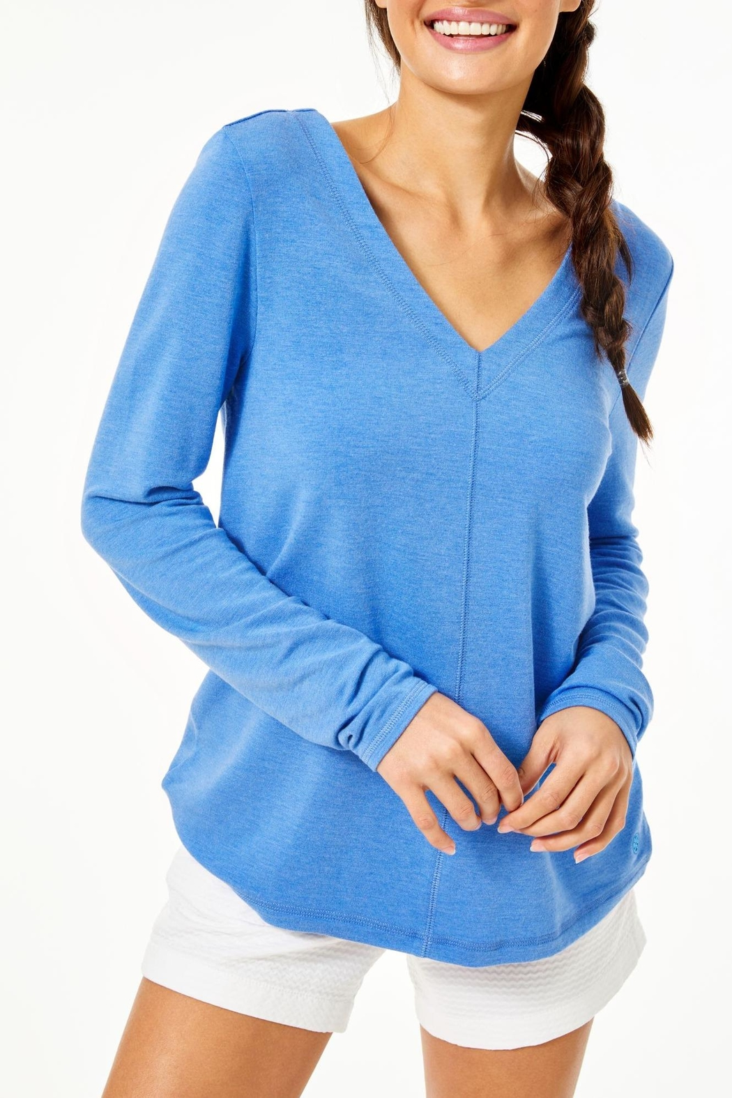 Lilly Pulitzer Luxletic Areli Pullover - Front Full Image