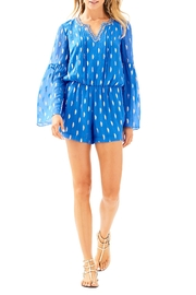 Lilly Pulitzer Ariele Silk Romper - Product Mini Image