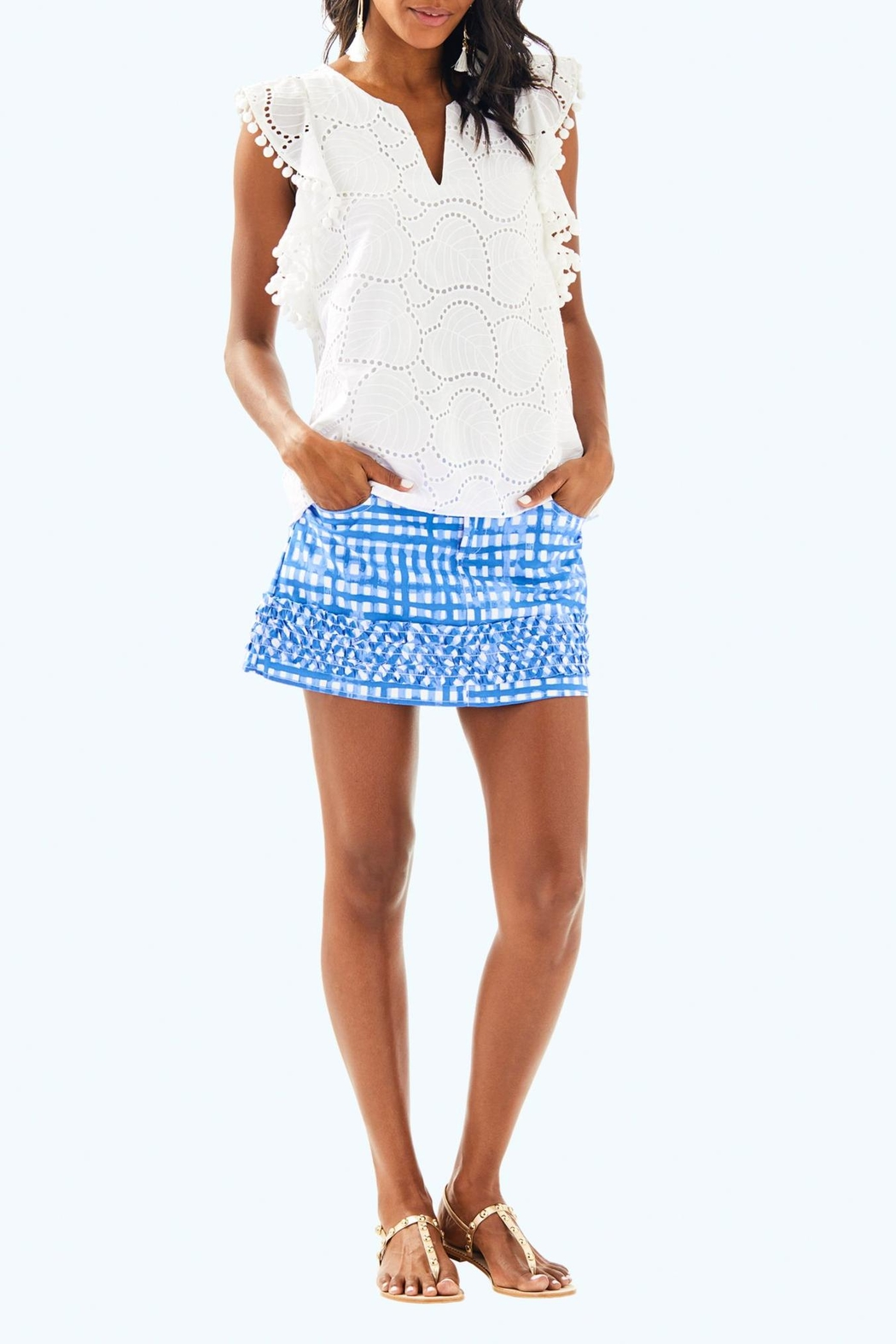Lilly Pulitzer Astara Top - Side Cropped Image