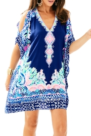 Lilly Pulitzer Atlin Silk Caftan - Product Mini Image