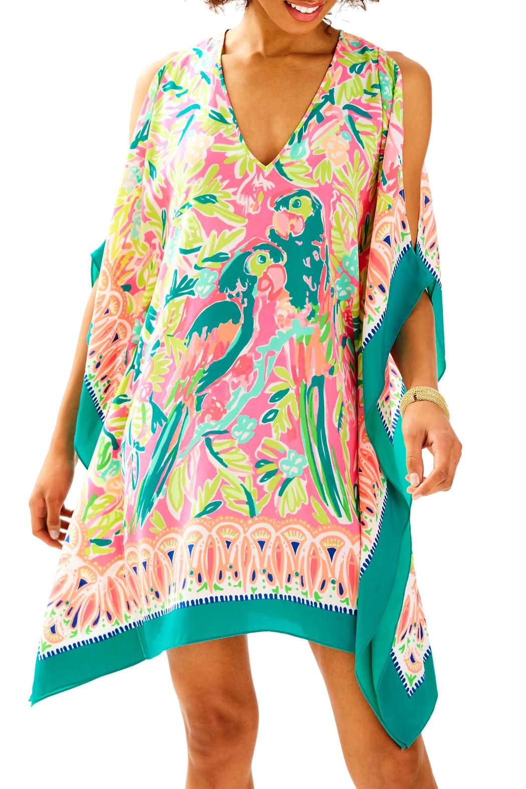 Lilly Pulitzer Atlin Silk Caftan - Main Image