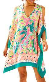 Lilly Pulitzer Atlin Silk Caftan - Front cropped