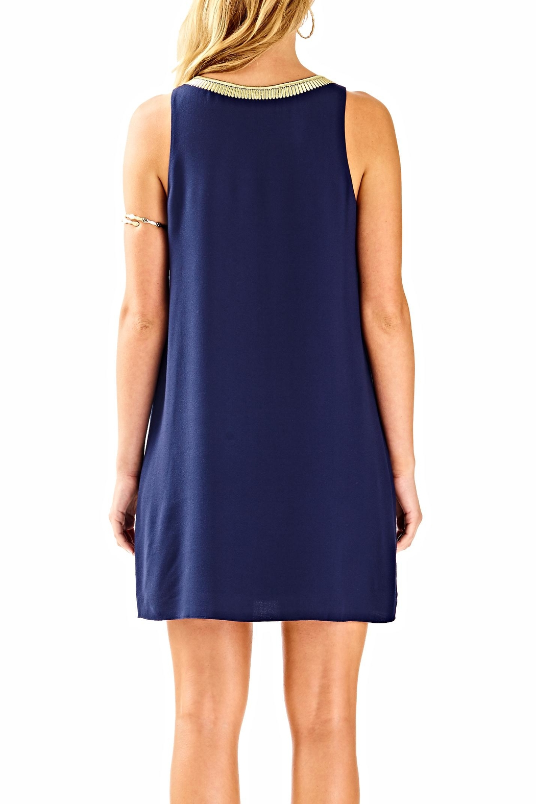 Lilly Pulitzer Aubra Shift Dress - Front Full Image
