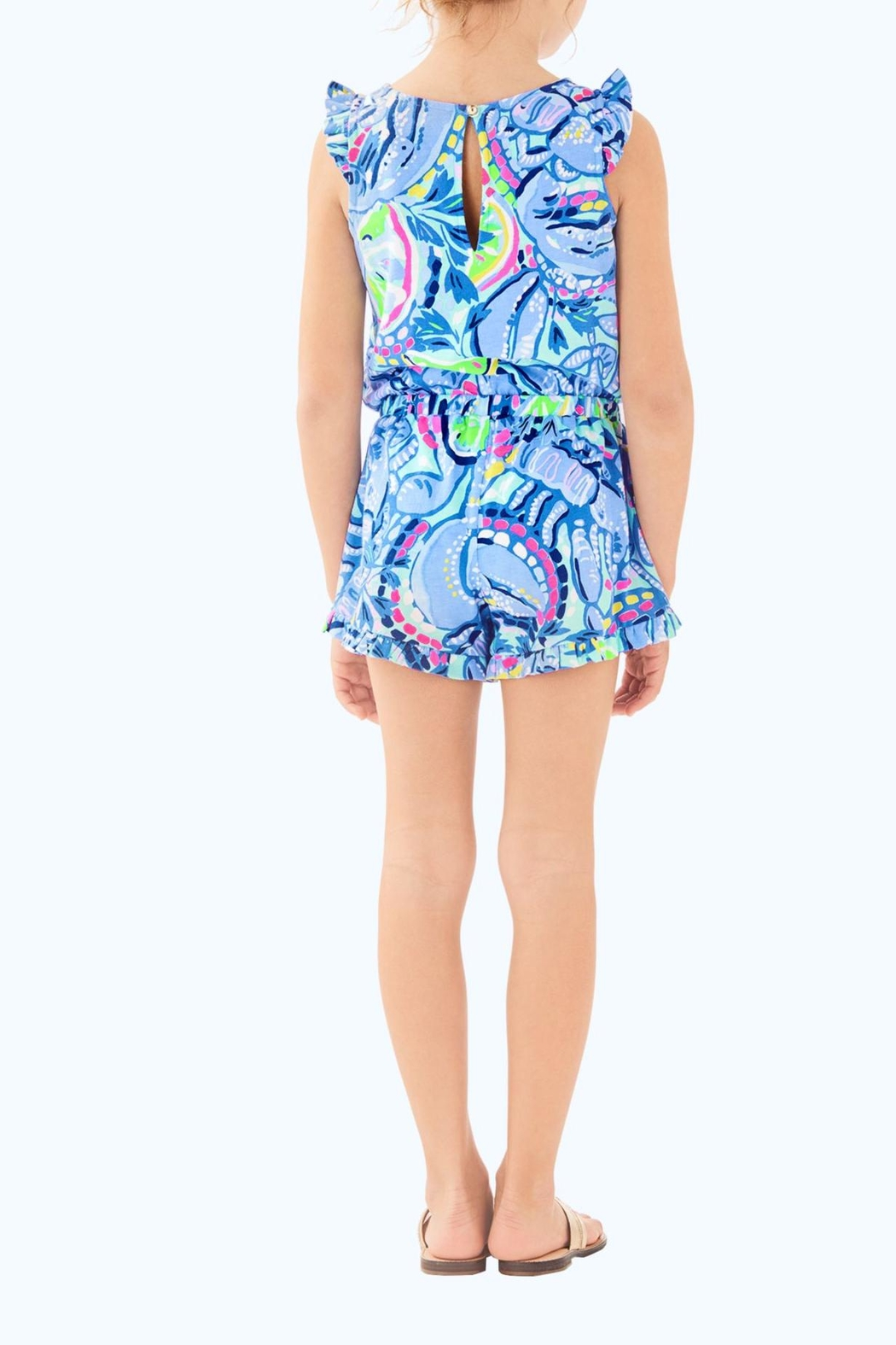 Lilly Pulitzer Azel Romper - Front Full Image