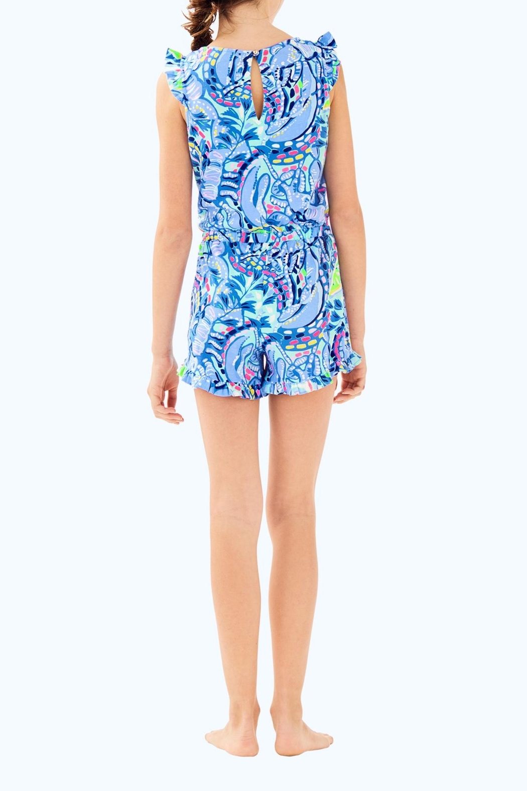 Lilly Pulitzer Azel Romper - Back Cropped Image