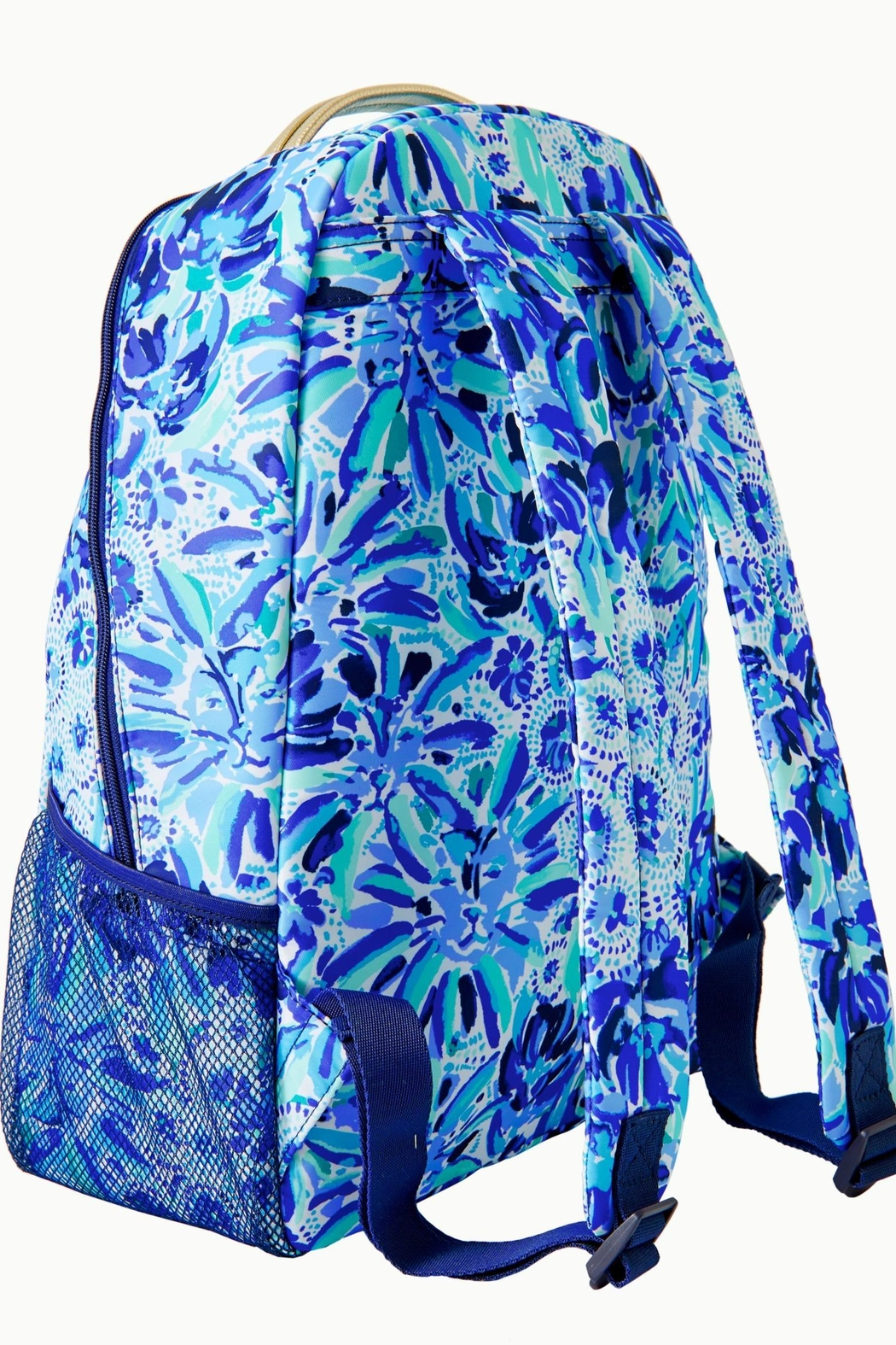 Lilly Pulitzer Bahia Backpack - Front Full Image