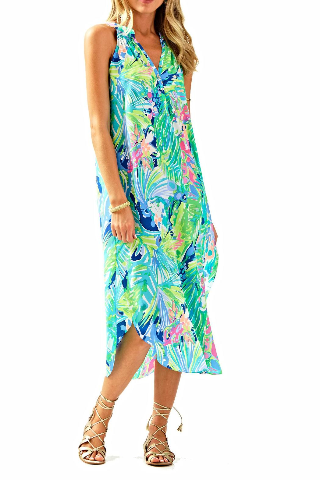 911bff365c9c3 Lilly Pulitzer Bailey Midi Dress from Sandestin Golf and Beach ...