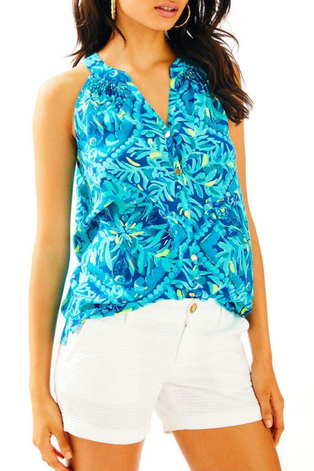 Lilly Pulitzer Bailey Silk Top - Main Image