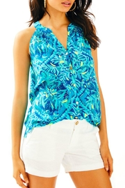 Lilly Pulitzer Bailey Silk Top - Product Mini Image