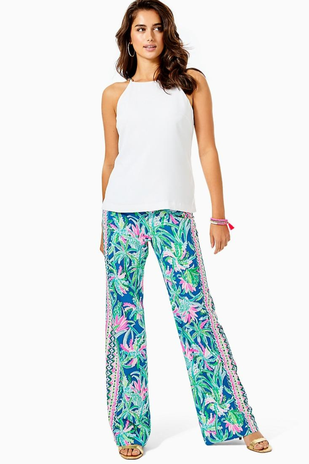 Lilly Pulitzer Bal Habour Palazzo-Pant - Main Image