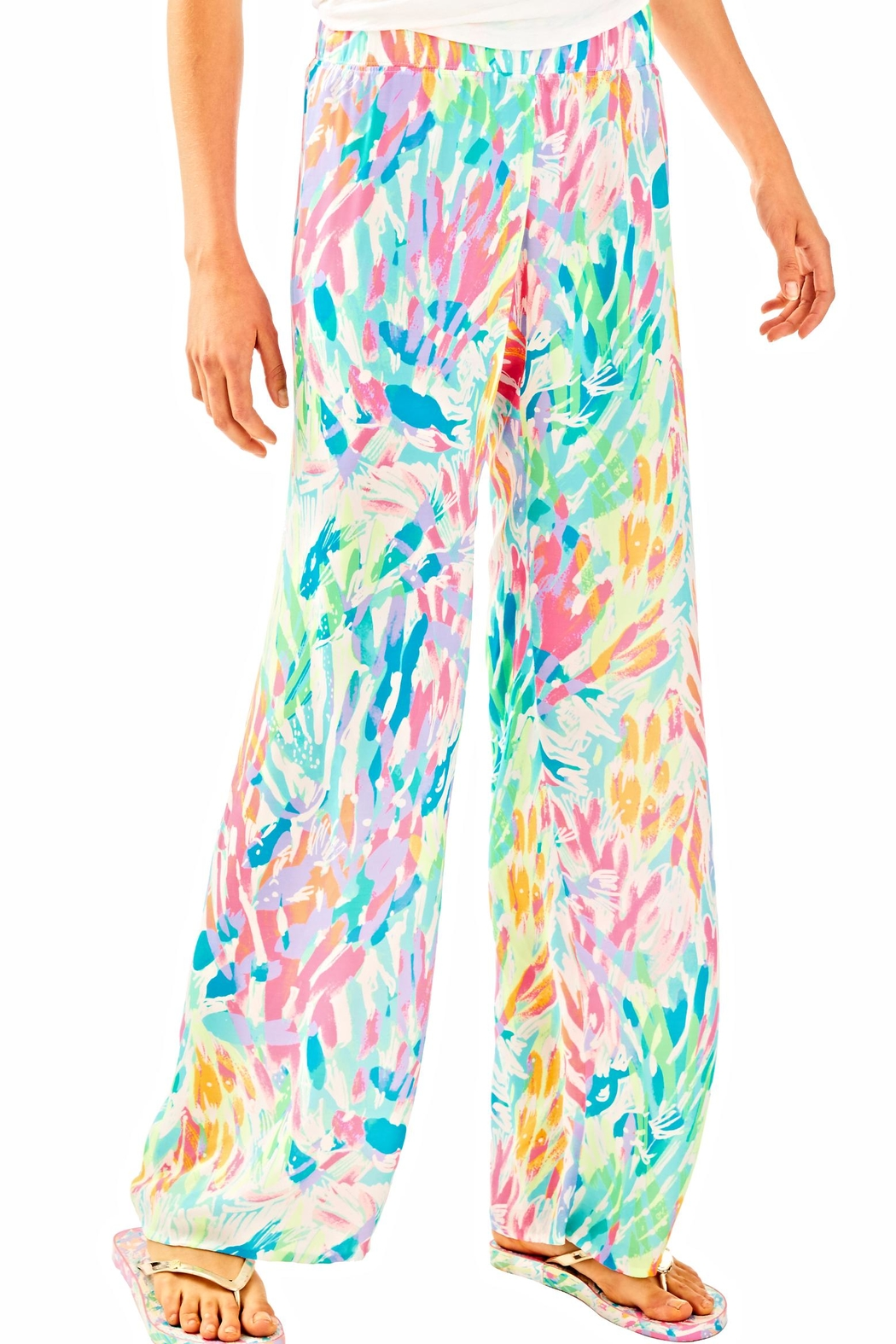 d910a6c7aabba2 Lilly Pulitzer Bal Harbour Palazzo Pants from Sandestin Golf and ...