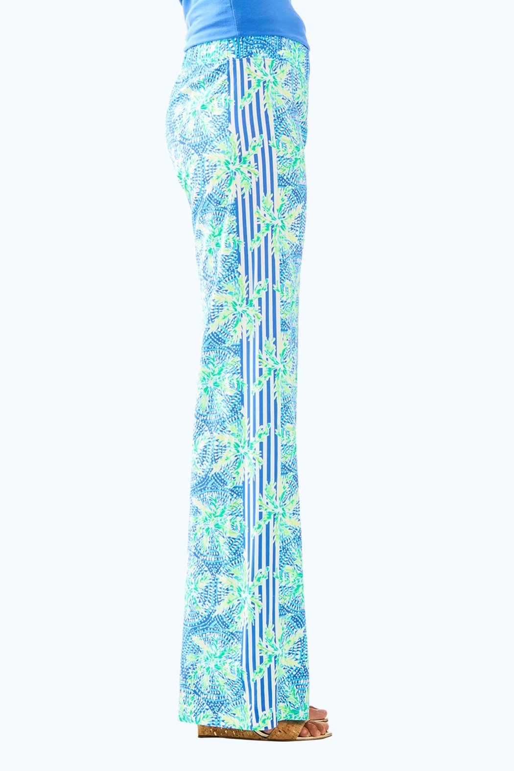 Lilly Pulitzer Bal-Harbour Palazzo Pant - Side Cropped Image