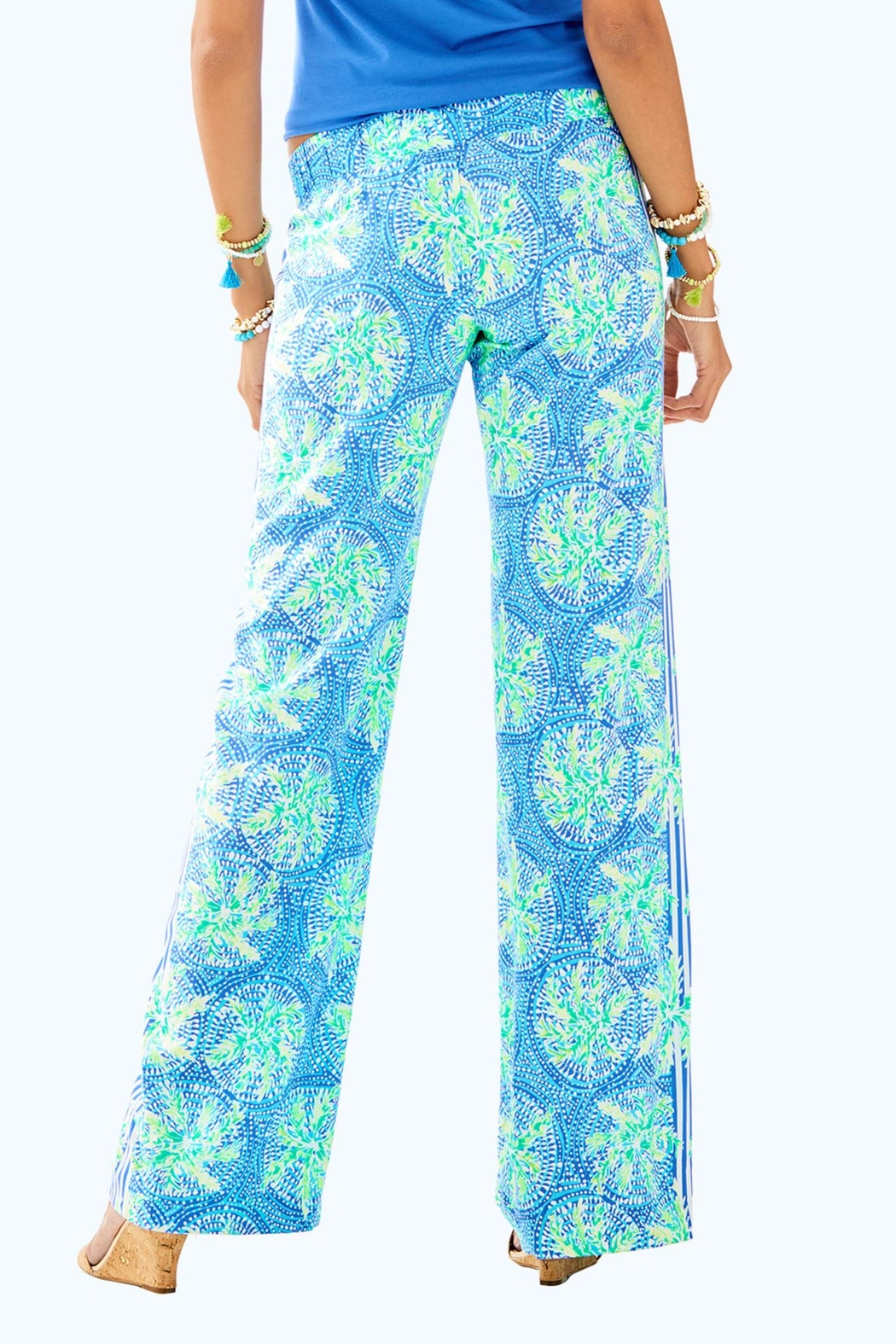 Lilly Pulitzer Bal-Harbour Palazzo Pant - Front Full Image