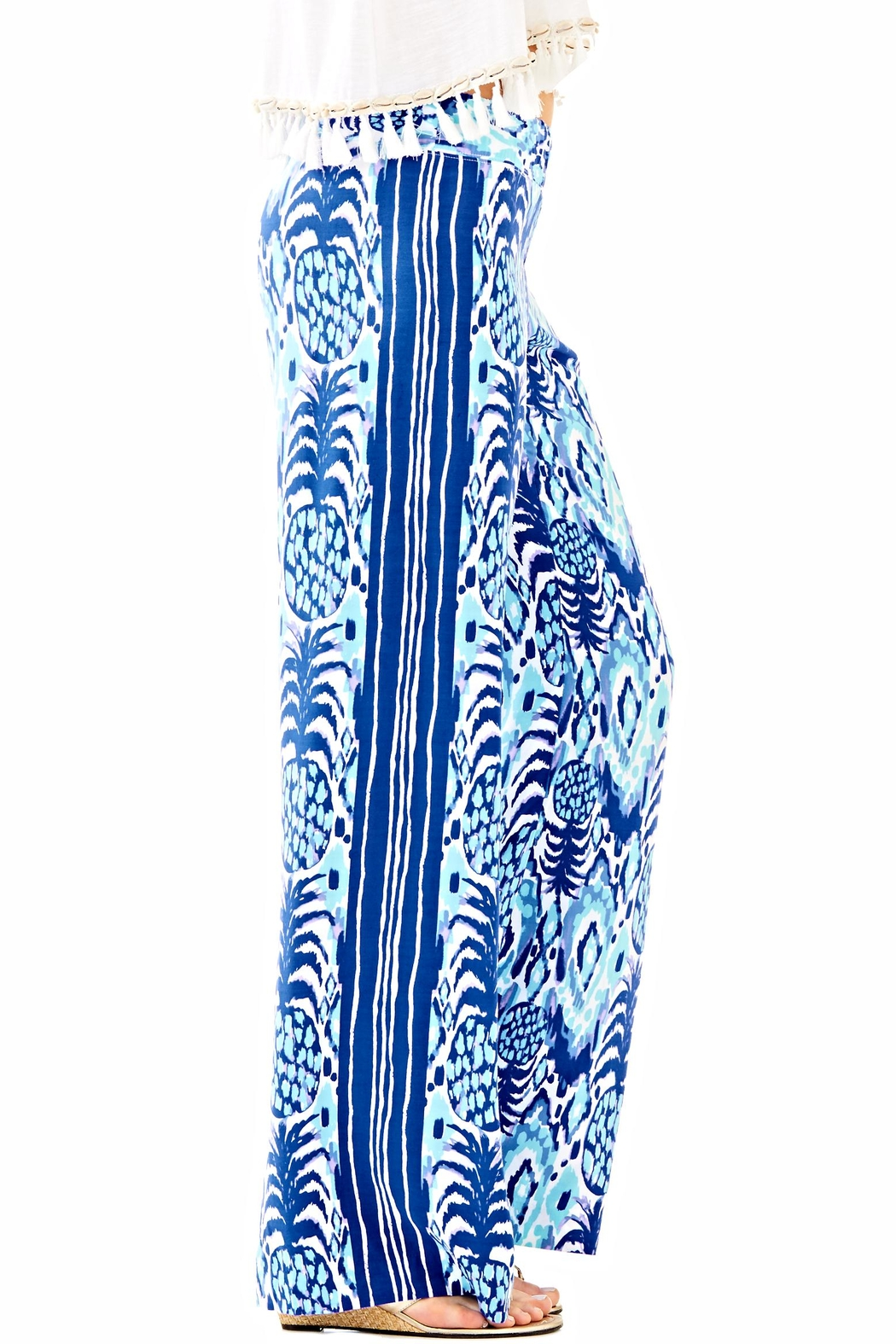 Lilly Pulitzer Balharbour Palazzo Pant - Main Image