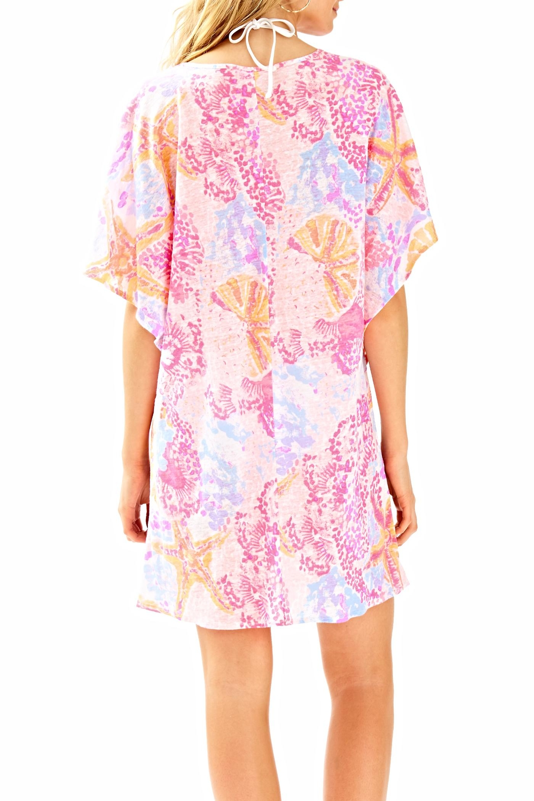 Lilly Pulitzer Balleta Cover Up - Front Full Image