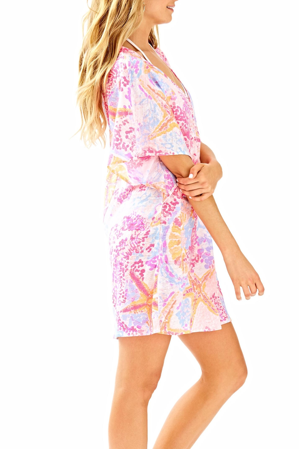 Lilly Pulitzer Balleta Cover Up - Side Cropped Image