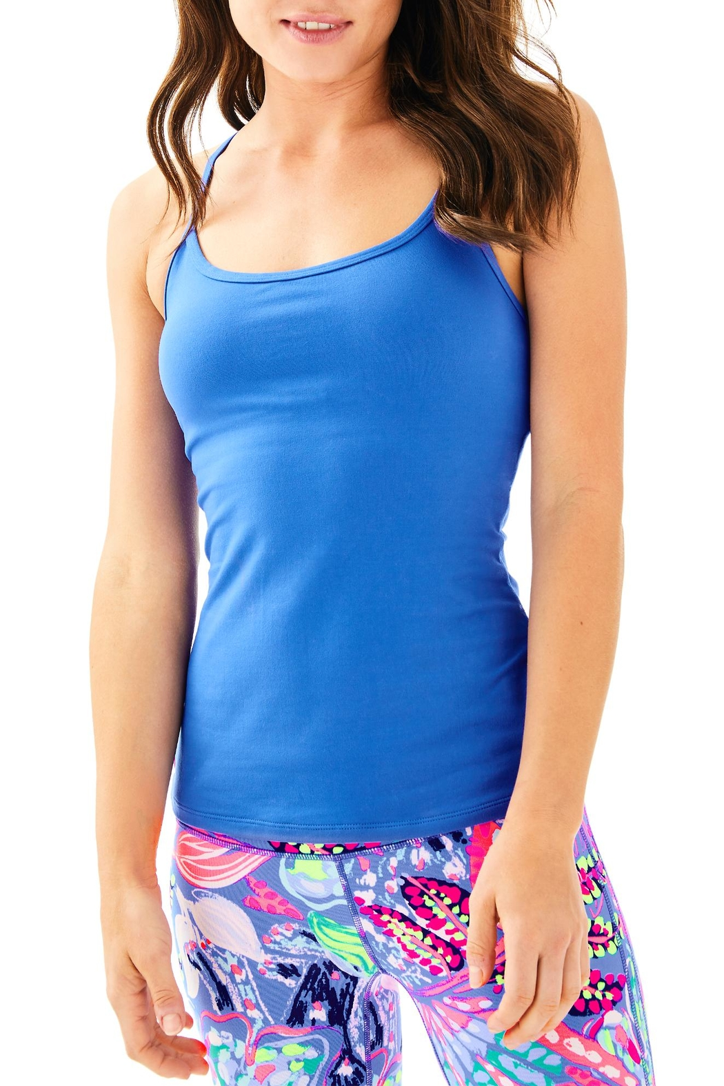Lilly Pulitzer Bandy Bra Tank - Front Cropped Image