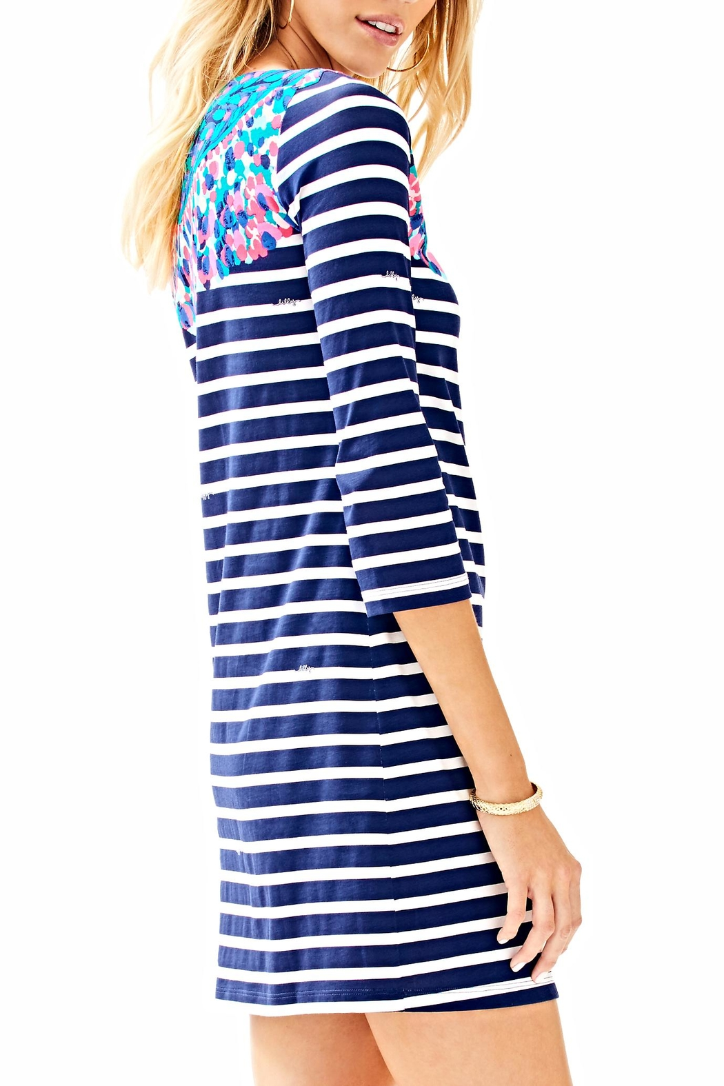 Lilly Pulitzer Bay Dress - Side Cropped Image