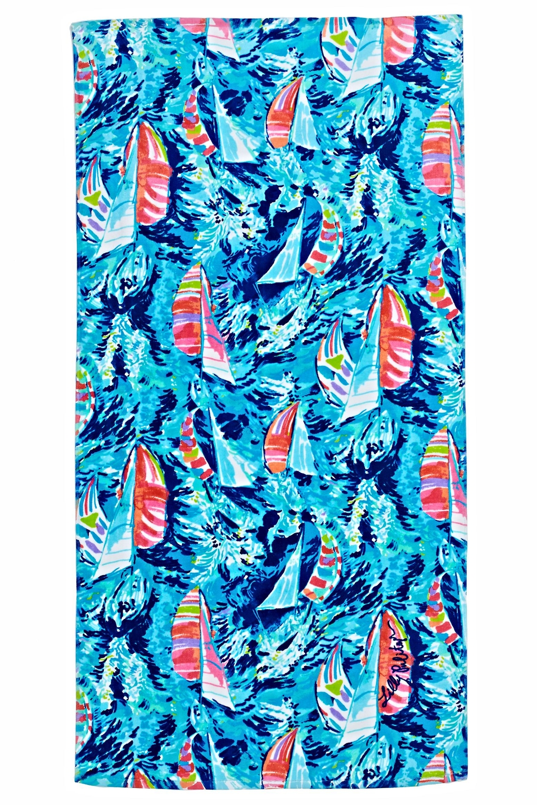 6416d28e4b9497 Lilly Pulitzer Beach Towel From Sandestin Golf And Resort By