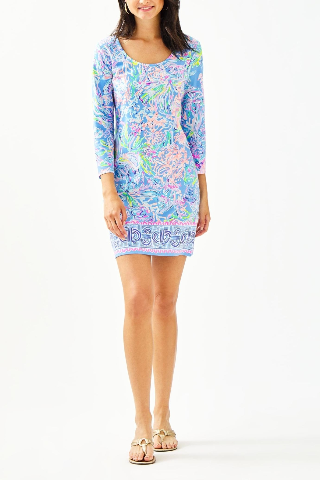 Lilly Pulitzer Beacon Dress - Back Cropped Image