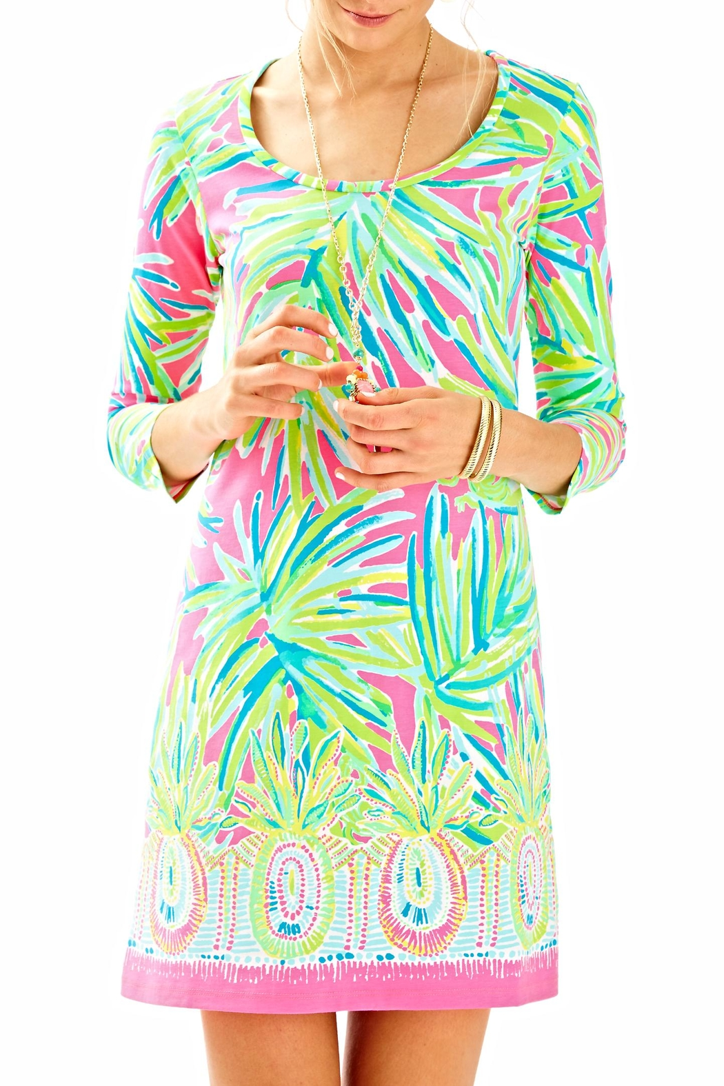 Lilly Pulitzer 3/4 Sleeve Dress - Main Image