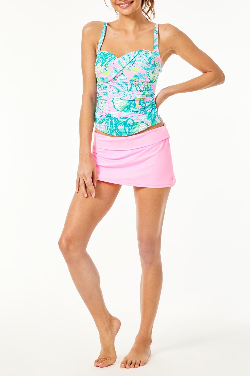Lilly Pulitzer Bec Tankini Top - Side Cropped Image