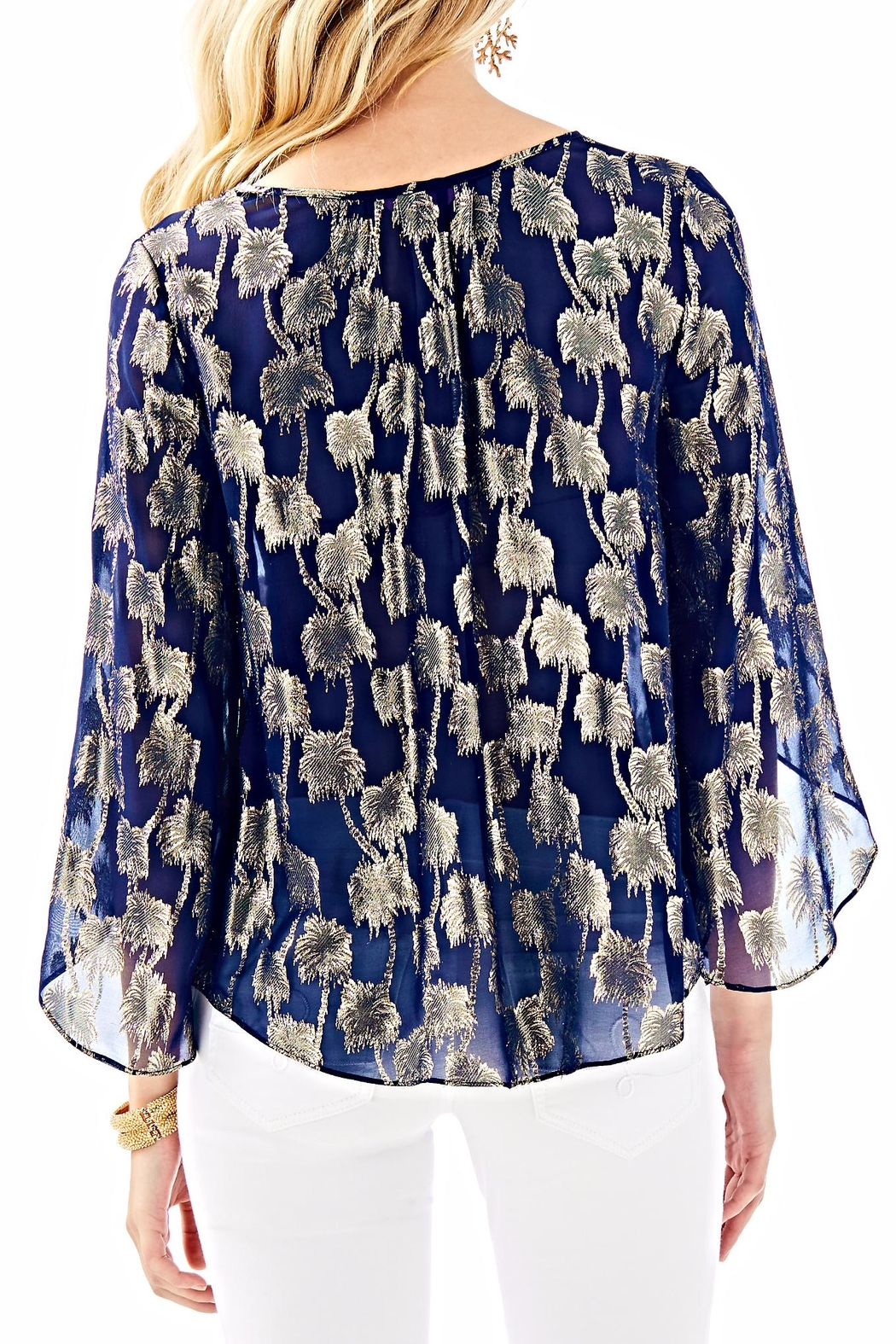 Lilly Pulitzer Beccer Clip Top - Front Full Image