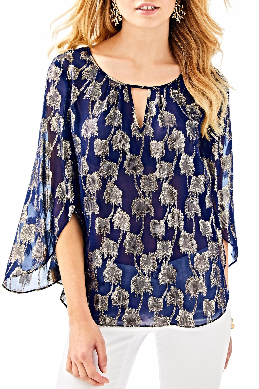 Lilly Pulitzer Beccer Clip Top - Main Image