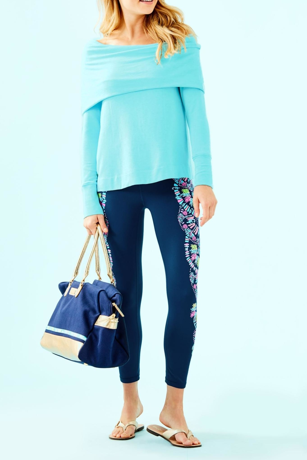 Lilly Pulitzer Belinda Pullover - Side Cropped Image