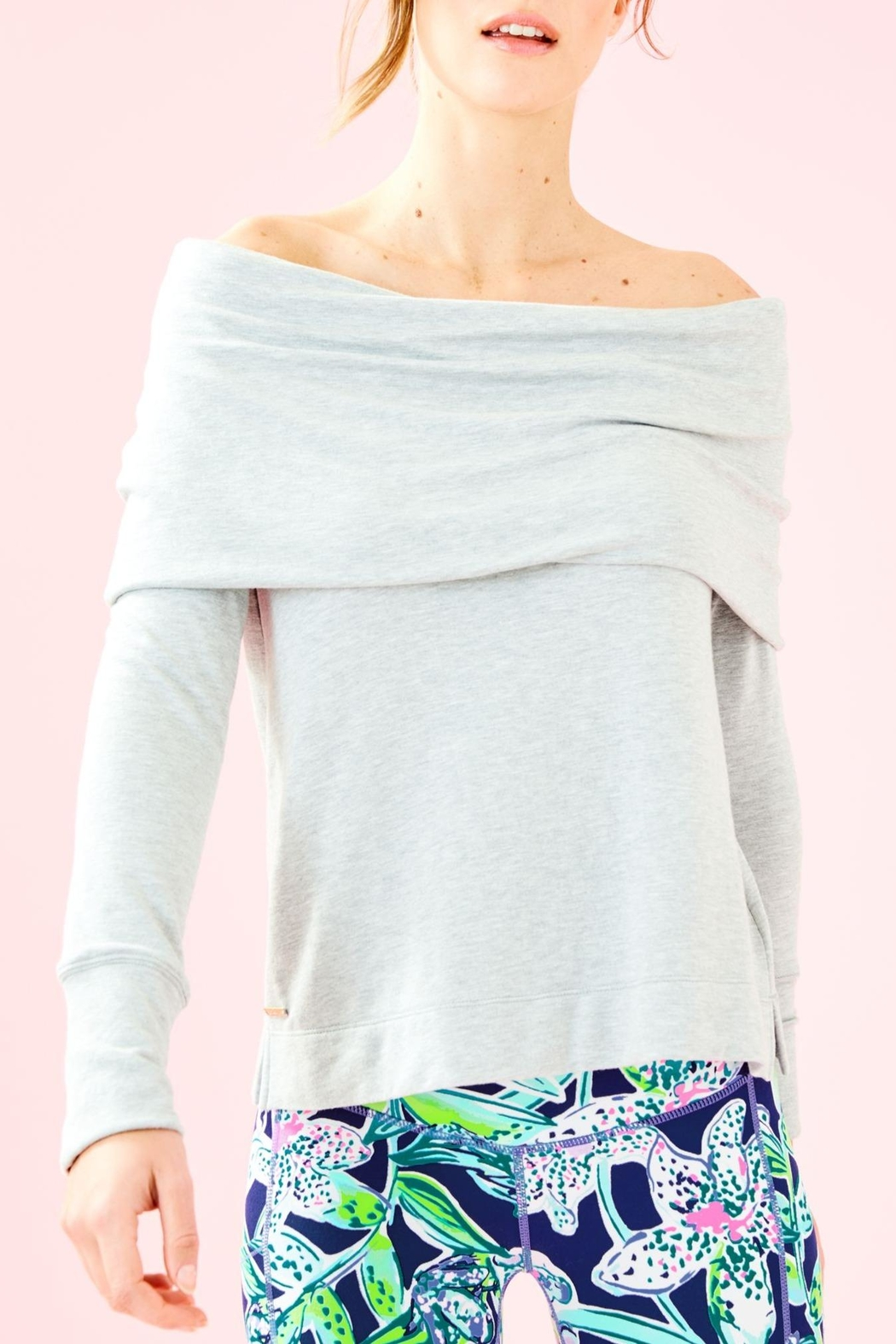 Lilly Pulitzer Belinda Pullover - Front Cropped Image
