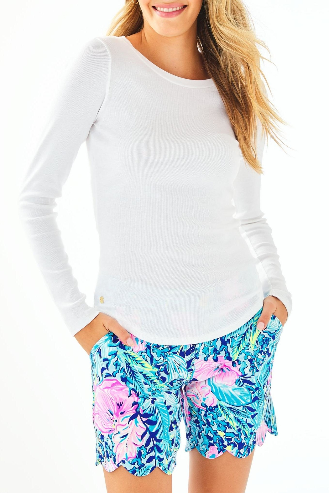 Lilly Pulitzer Bladwin Top - Main Image