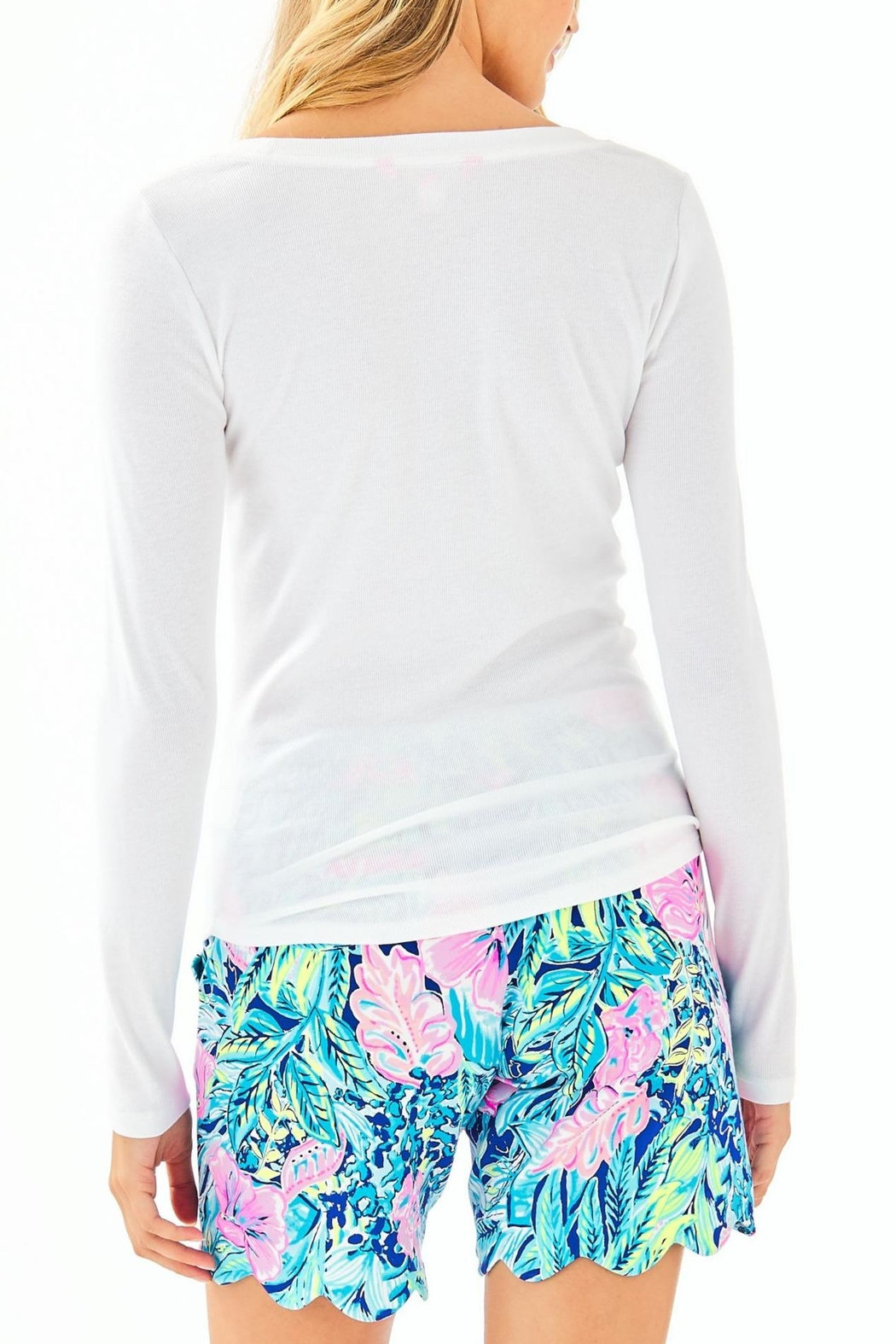 Lilly Pulitzer Bladwin Top - Front Full Image